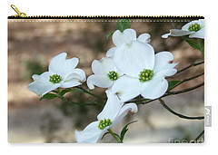 Dogwood 2 Carry-all Pouch by Andrea Anderegg