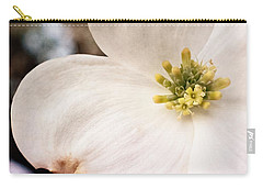Dogwood Bloom Closeup Carry-all Pouch