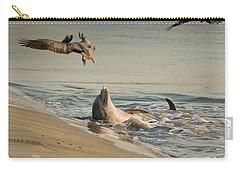 Dolphin Joy Carry-all Pouch
