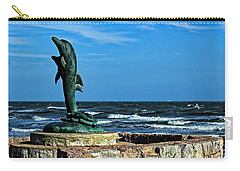 Dolphin Statue Carry-all Pouch