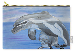 Sublime Dolphins Carry-all Pouch