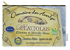 Domaine Des Averlys Carry-all Pouch by Allen Sheffield