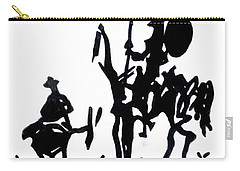 Don Quixote Carry-all Pouch