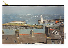 Carry-all Pouch featuring the painting Donaghadee Ireland Irish Sea by Brenda Brown