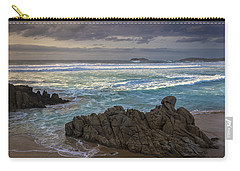 Carry-all Pouch featuring the photograph Doninos Beach Ferrol Galicia Spain by Pablo Avanzini