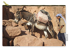 Donkey Of Mt. Sinai Carry-all Pouch