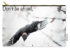 Carry-all Pouch featuring the photograph Don't Be Afraid by Kerri Farley
