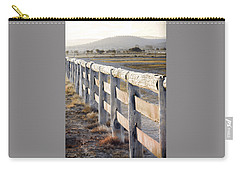 Carry-all Pouch featuring the photograph Don't Fence Me In by Holly Kempe