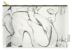 Don't Sit On Me Carry-all Pouch by Melinda Dare Benfield