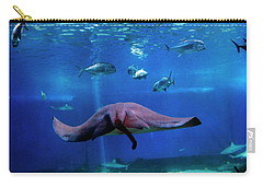 Carry-all Pouch featuring the photograph Dont Worry It'll Grow Back by Patricia Griffin Brett