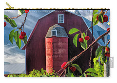 Door County Cherry Harvest Red Barn Carry-all Pouch