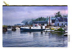 Door County Gills Rock Fishing Village Carry-all Pouch