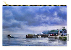 Door County Gills Rock Morning Catch Panorama Carry-all Pouch