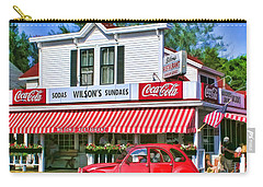 Door County Wilson's Restaurant And Ice Cream Parlor Carry-all Pouch