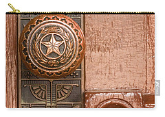 Door To Texas State Capital Carry-all Pouch by David and Carol Kelly