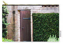 Door To The Past Carry-all Pouch by Susan Molnar