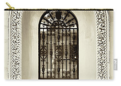 Door With Decorated Arch Carry-all Pouch