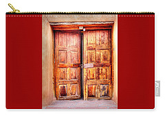 Doors To The Inner Santuario De Chimayo Carry-all Pouch