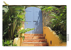 Doorway To Paradise Carry-all Pouch by Fiona Kennard