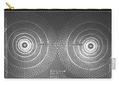 Carry-all Pouch featuring the drawing Doppler Effect Parallel Universes by Jason Padgett
