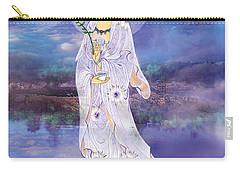 Carry-all Pouch featuring the photograph Doro Guanyin by Lanjee Chee