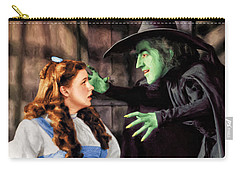 Dorothy And The Wicked Witch Carry-all Pouch