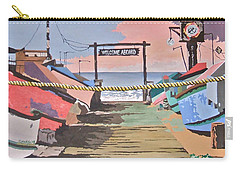 Dory Fishing Fleet -newport Beach Carry-all Pouch