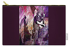 Double Bass Silhouette  Carry-all Pouch