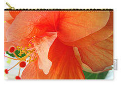 Double Peach Carry-all Pouch