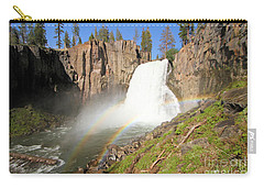 Double Rainbow Falls Carry-all Pouch by Adam Jewell