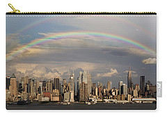 Double Rainbow Over Nyc Carry-all Pouch