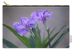 Carry-all Pouch featuring the photograph Double The Pleasure by Penny Meyers