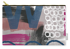 Double Ve- Abstract Painting Carry-all Pouch