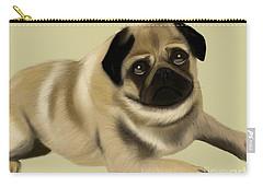 Doug The Pug Carry-all Pouch