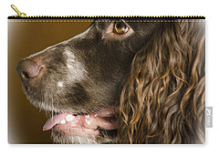 Dougie The Cocker Spaniel 2 Carry-all Pouch by Linsey Williams