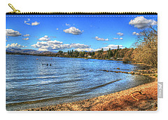 Carry-all Pouch featuring the photograph Down By The Riverside by Doc Braham