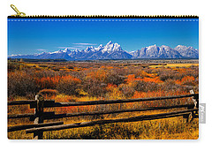 Carry-all Pouch featuring the photograph Down In The Valley by Greg Norrell