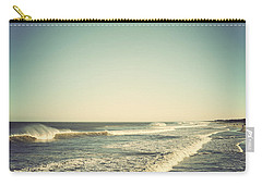 Down The Shore - Seaside Heights Jersey Shore Vintage Carry-all Pouch by Terry DeLuco