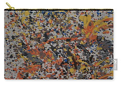 Carry-all Pouch featuring the painting Down With Disease by Thomasina Durkay