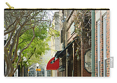 Downtown Aiken South Carolina Carry-all Pouch by Andrea Anderegg
