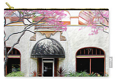 Carry-all Pouch featuring the photograph Downtown by Athala Carole Bruckner