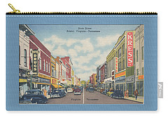 Downtown Bristol Va Tn 1940's Carry-all Pouch