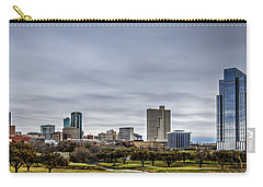 Downtown Fort Worth Trinity Trail Carry-all Pouch
