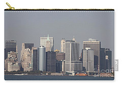 Downtown Manhattan Shot From The Staten Island Ferry Carry-all Pouch by John Telfer