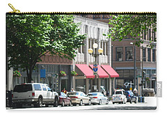 Downtown Neighborhood Carry-all Pouch by David Trotter