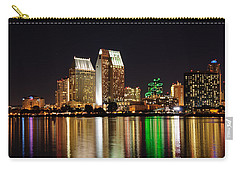 Downtown San Diego Carry-all Pouch by Gandz Photography
