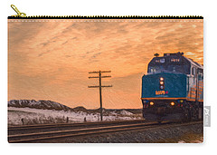 Downtown Train Carry-all Pouch