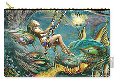 Dragon And Fairy Swing Carry-all Pouch