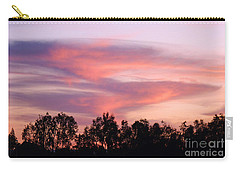 Carry-all Pouch featuring the photograph Dragon Clouds by Meghan at FireBonnet Art