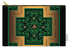 Dragon Egg Celtic Cross Carry-all Pouch